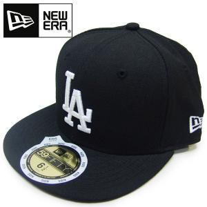 NEW ERA KIDS ニューエラ キッズ59FIFTY LOS DODGERS ロサンゼルス・ドジャース ブラック/ホワイト 53cm 53.9cm  |suxel