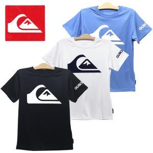ブランド:クイックシルバー QUIKSILVER 品 名 :キッズ UPF50+ ラッシュ Tシャツ...
