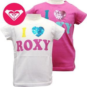 20%OFF 子供服 女の子 ROXY ロキシー キッズ/ジュニアMINI I LOVE ROXY キッズ Tシャツ suxel