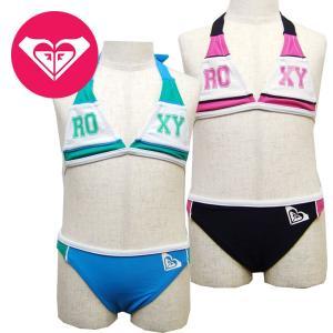 110cm ROXY ロキシー キッズ/ジュニアMINI LOVE ROXY ビキニ キッズ 水着 suxel