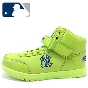 17cm 子供靴 キッズ スニーカー MLB NY メジャーリーグ ニューヨークヤンキースダンス 靴 くつ 軽量 キッズ スニーカー|suxel