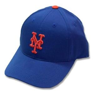 MLB メジャーリーグベースボール キャップ 子供用 野球帽 帽子 ニューヨーク メッツ 男の子 女の子 スナップバック ジュニア(50-54cm)|suxel