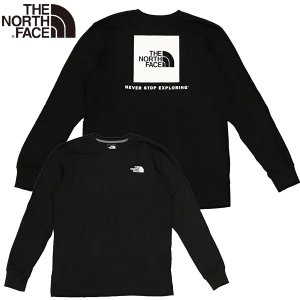 The North Face ザ・ノース・フェイス L/S RED BOX TEE レッドボックス 長袖 Tシャツ|suxel