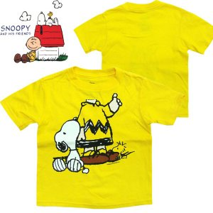スヌーピー 半袖 キッズ Tシャツ US2T(90cm)|suxel