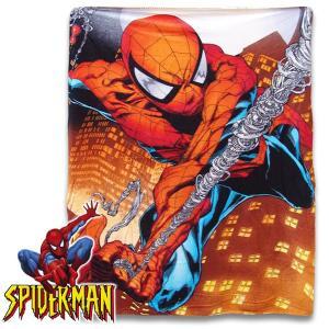 毛布 ブランケット お昼寝に最適 子供 SPIDER MAN スパイダーマン フリース  横117cm×縦152cm 管理:2,800-|suxel