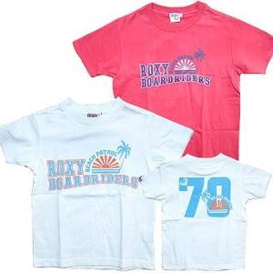 30%OFF 子供服 女の子 ROXY ロキシー キッズ半袖 Tシャツ(太陽と木)おしゃれなキッズガールの子供服です suxel