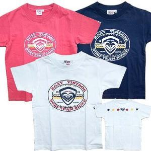 セール S(100cm 前後)    ROXY ロキシー キッズ 半袖 Tシャツ(ロゴ) suxel