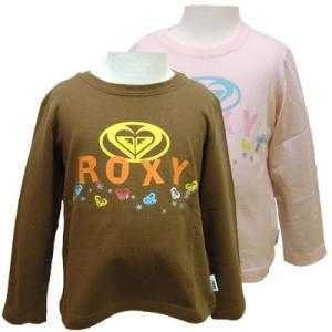 100cm 110cm ROXY キッズ/ジュニアキッズ キッズ ロンTシャツ 長袖雪の結晶がシルバーにキラキラ輝 suxel