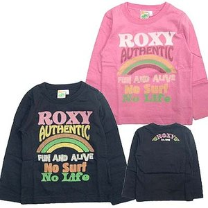 20%OFF-ROXY ロキシー キッズ/ジュニアMINI NO SURF NO LIFE  キッズ Tシャツ suxel