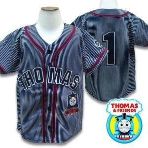 子供服 THOMAS トーマス キッズ 半袖 ベースボールシャツ   US4 130-140cm US5/6 140-150cm|suxel