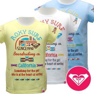 20%OFF 子供服 女の子 ROXY ロキシー キッズ/ジュニアMINI AMERICAN DREAM S/S キッズ Tシャツ suxel