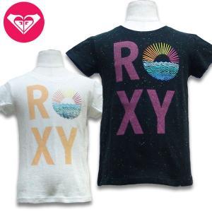 20%OFF 子供服 女の子 ROXY ロキシー MINI WARM UP S/S キッズ Tシャツ suxel