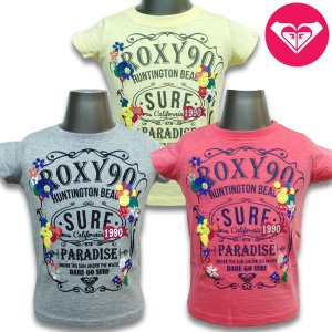 100-130cm ROXY ロキシー キッズ tシャツ 半袖 MINI SURF PARADISE Tee   suxel