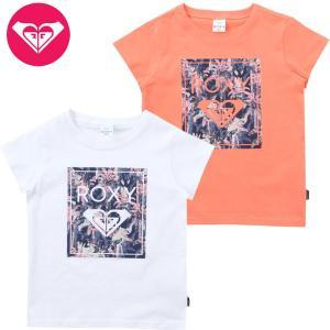 120-140cm ROXY ロキシー キッズ/ガール グラフィック 半袖TシャツMINI SHADES AND SHAKAS suxel