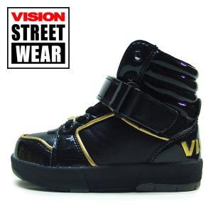 16cm 子供 VISION STREET WEAR ヴィジョン キッズ スニーカー エムエルケー|suxel