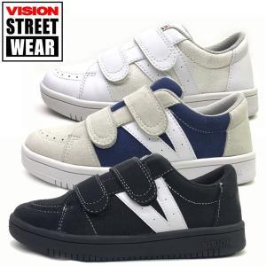 ヴィジョン VISION STREET WEAR  キッズ ジュニア スニーカー SANTIAGO Jr.  19-23cm 子供靴|suxel