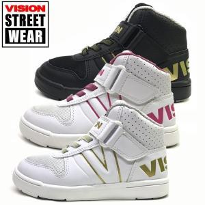 新作 ヴィジョン VISION STREET WEAR  キッズ ジュニア 軽量 スニーカー VENTURA Jr. 19-23cm  子供靴|suxel