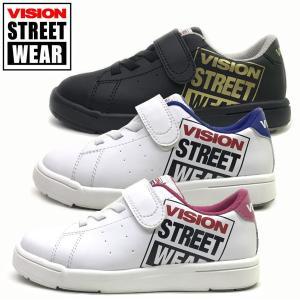 新作 ヴィジョン VISION STREET WEAR  キッズ ジュニア スニーカー PERRY Jr.  子供靴 19-23cm|suxel