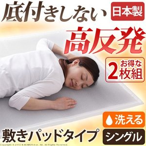(日本製) 新構造エアーマットレス2枚セット「エアレスト365ライト」 シングル 95×200cm (個別送料¥1830) (メーカー直送の為代金引換不可・キャンセル・返品 suyasuya