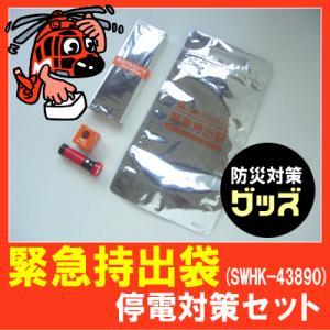 (防災グッズ)緊急持出袋停電対策セット(SWHK-43890...