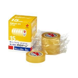 【商品名】 (まとめ) ニチバン セロテープ エルパック エス 小巻 15mm×20m LP-15S...