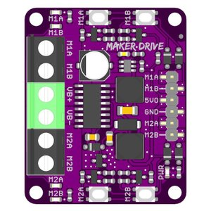 Cytron Maker Drive: 初心者向けシンプルHブリッジモータドライバ suzakulab 02
