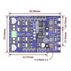 Cytron 10A 7V-30V 2ch DCモータドライバArduinoシールド suzakulab 03