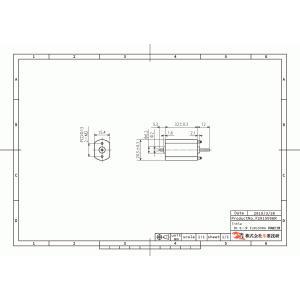 小型DCモータ フラット型 20x15mm 両軸仕様 suzakulab 02