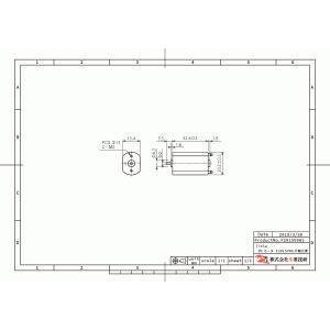 小型DCモータ フラット型 20x15mm 片軸仕様|suzakulab|02