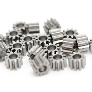 ピニオン モジュール0.5 10歯 シャフト径2.0/2.3/2.5/3.0/3.17mm用 鉄製|suzakulab