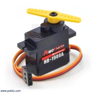 Power HD マイクロサーボ HD-1900A|suzakulab