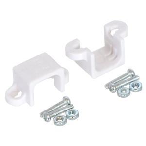 Pololu 金属マイクロギヤードモータ ブラケット ホワイト 2個入り 在庫品|suzakulab