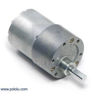 Pololu 100:1 金属ギヤードモータ 37Dx57L mm|suzakulab