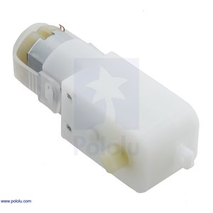Pololu 120:1 プラスチックギヤードモータ 90° 出力 在庫品|suzakulab