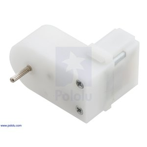 Pololu 120:1 ミニプラスチックギヤードモータ オフセット 2mm スプライン出力 在庫品|suzakulab