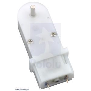 Pololu 120:1 ミニプラスチックギヤモータ 90° 3mm D軸出力 在庫品|suzakulab