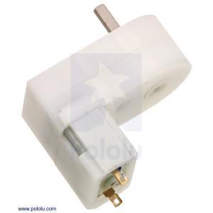 Pololu 120:1 ミニプラスチックギヤードモータ オフセット 3mm D軸出力 在庫品|suzakulab