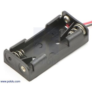 Pololu 電池ボックス 単4x2本|suzakulab