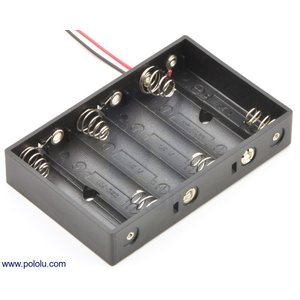 Pololu 電池ボックス 単3x6本|suzakulab
