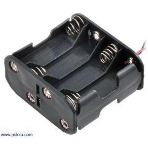 Pololu 電池ボックス 単3x8本 (両面)|suzakulab