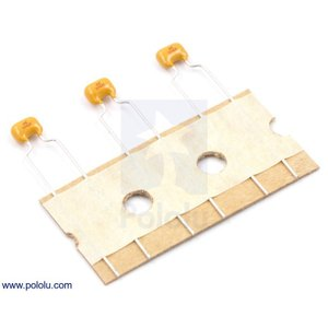 Pololu セラミックコンデンサ 0.1uF 100V 3個入り|suzakulab