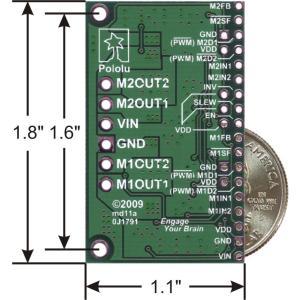 Pololu デュアルMC33926モータドライバボード|suzakulab|02