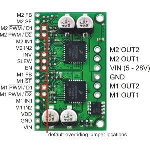 Pololu デュアルMC33926モータドライバボード|suzakulab|03