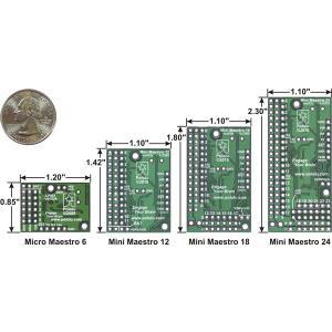 Pololu Mini Maestro 12チャンネル USBサーボコントローラ (組立済み)|suzakulab|03