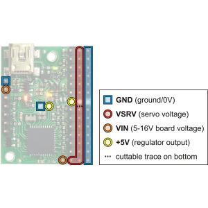 Pololu Mini Maestro 12チャンネル USBサーボコントローラ (組立済み)|suzakulab|06