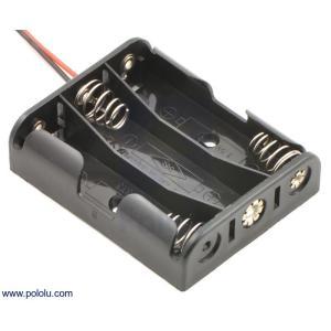 Pololu 電池ボックス 単3x3本|suzakulab