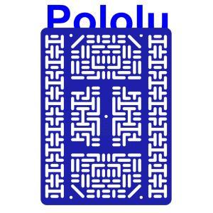 Pololu RP5/Rover 5 拡張プレート RRC07B (幅広) ブルー suzakulab