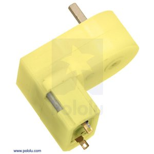 Pololu 180:1 ミニプラスチックギヤードモータ オフセット 3mm D軸出力 在庫品|suzakulab