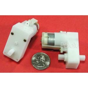 Solarbotics GM2 224:1 ギヤードモータオフセット出力|suzakulab