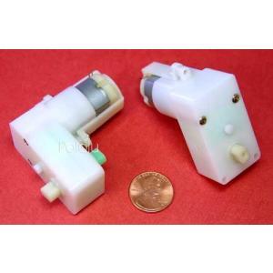 Solarbotics GM8 143:1 ギヤードモータ オフセット出力|suzakulab
